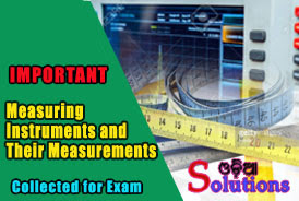 Measuring Instrumetns and Their Measurement