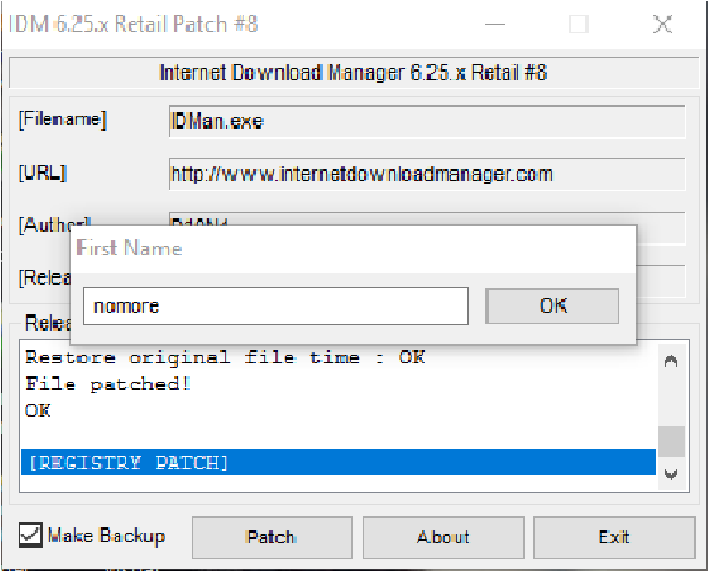 universal patcher for idm