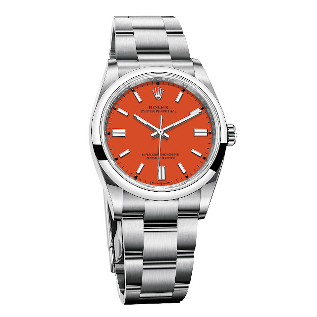 Rolex Oyster Perpetual 36 mm Coral Red
