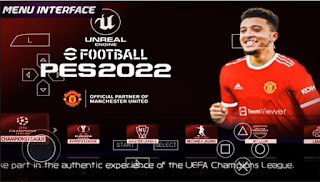 Download eFootball PES 2022 PPSSPP V2 New HD Theme Best Graphics Latest Kits & Transfer 2021-22