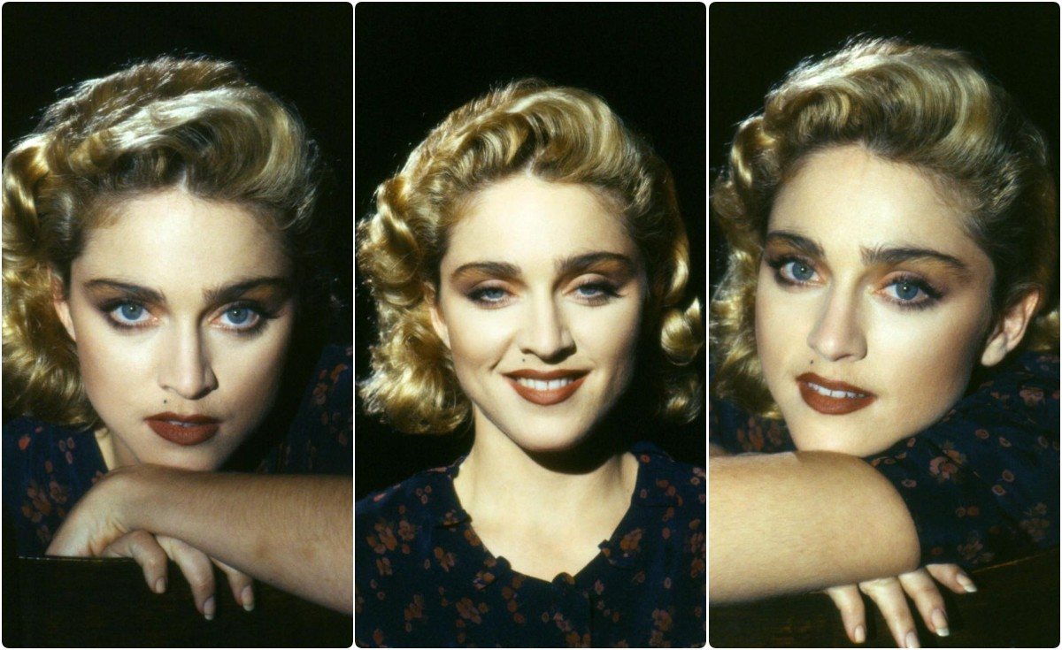 """Beautiful Photos of Madonna Taken by Herb Ritts on the Set of """"Live To Tell"""" Music Video (1986)"""