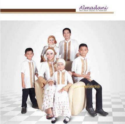Model Baju Muslim Pasangan Keluarga Modern Terbaru