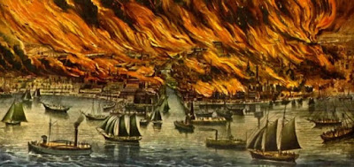 The Great Fire of London by Sophie