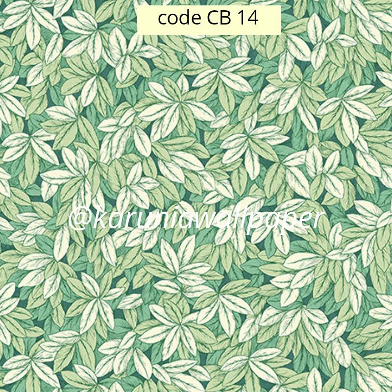 jual wallpaper daun