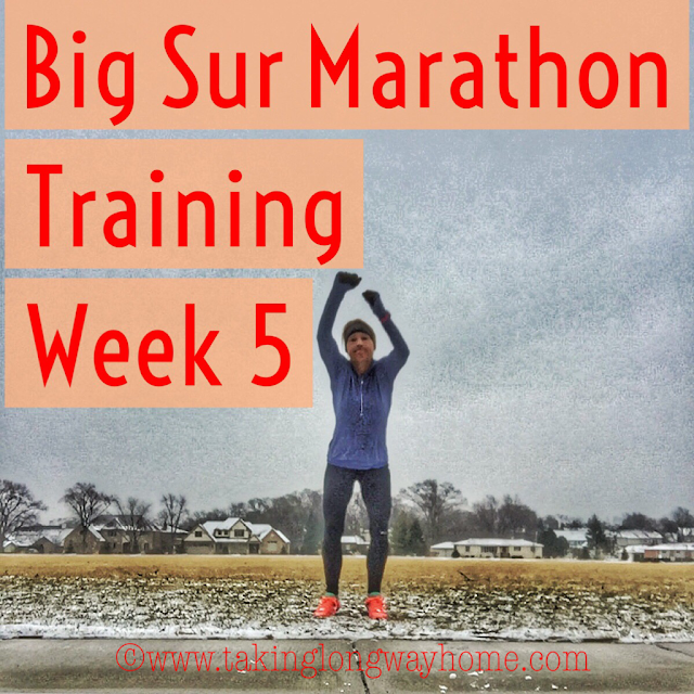 Big Sur Marathon Training Week 5