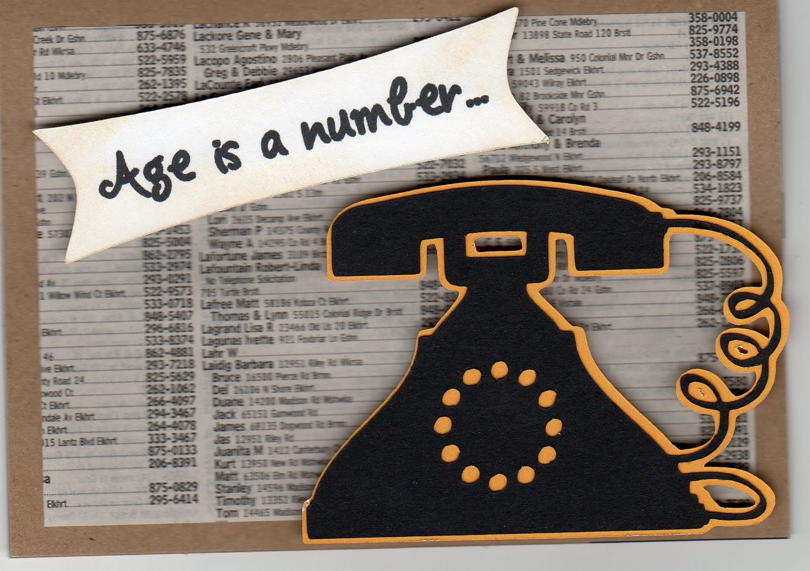 Paper Horses: What's Your Phone Number?
