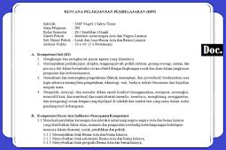 RPP [IPS] Kelas [IX/9] SMP/MTs Kurikulum 2013 Revisi Terbaru Semester 1 dan 2