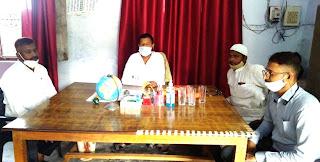 मदरसा रेहटी के प्रबंधक ने निरीक्षण कर दिया निर्देश  | #NayaSaberaNetwork