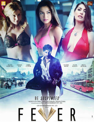 Poster Of Bollywood Movie Fever 2016 300MB Pdvd Full Hindi Movie