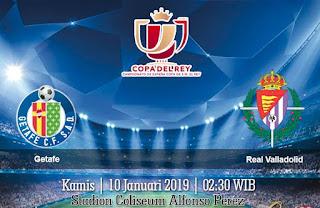 Prediksi Getafe vs Real Valladolid 10 Januari 2019