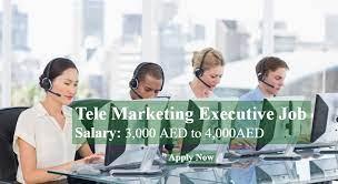 Required Female Tele Marketing Executive in Dubai