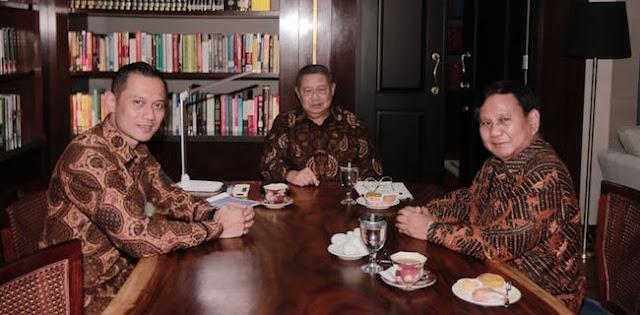 Gandeng AHY atau Anies, Prabowo Yakin Tumbangkan Jokowi