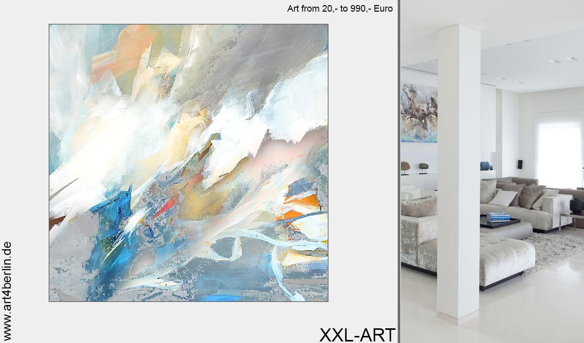 Kunstdrucke Modern sale moderne kunst abstrakte ölgemälde große acrylbilder