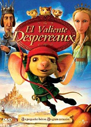 El valiente Despereaux (2008) [BRrip 1080p] [Latino] [Animación]