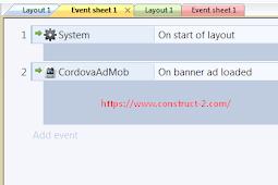 Cordova Admob Construct 2