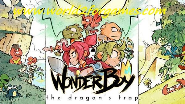 تحميل WonderBoy The Dragon's Trap للكمبيوتر