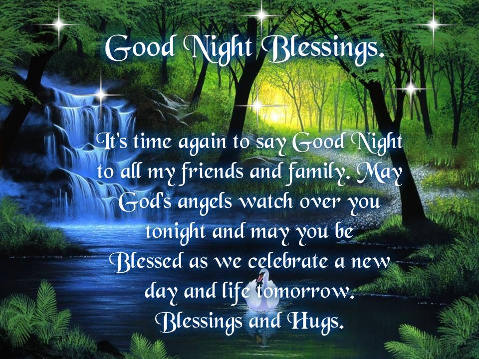 Good Night Blessings