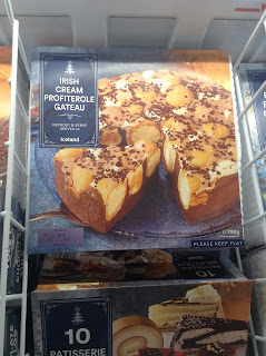 Iceland Irish Cream Profiterole Gateau