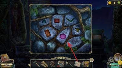 камни на тропинке с рисунками в игре тьма и пламя 3 темная сторона