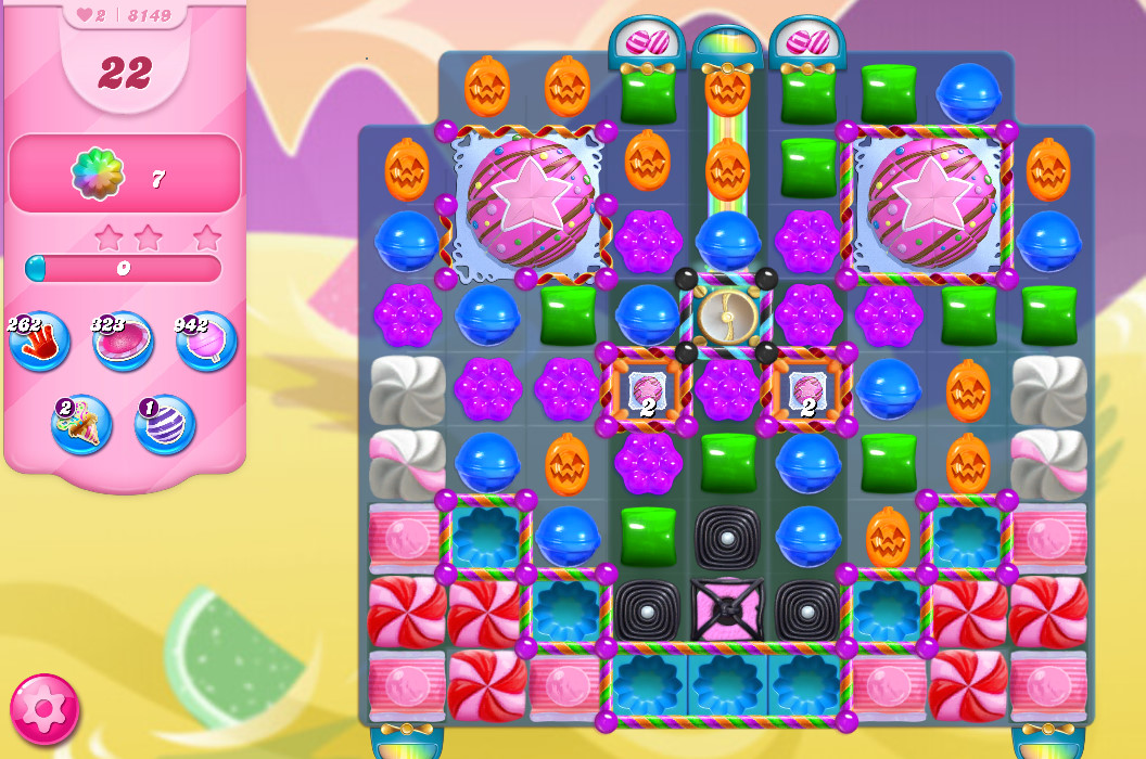 Candy Crush Saga level 8149
