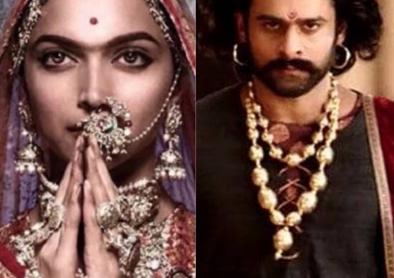 PadmaavatMovie vs baahubali 2 Movie