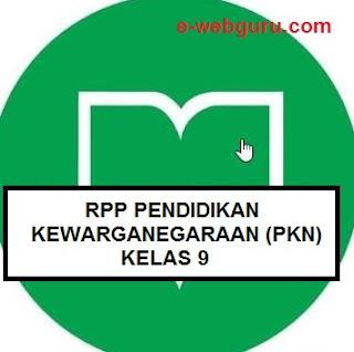 rpp pkn kelas 9