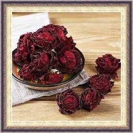 زر الورد أوالورد المجفف واستخداماته فى مصر