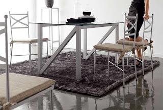 mesa forja en metalizado
