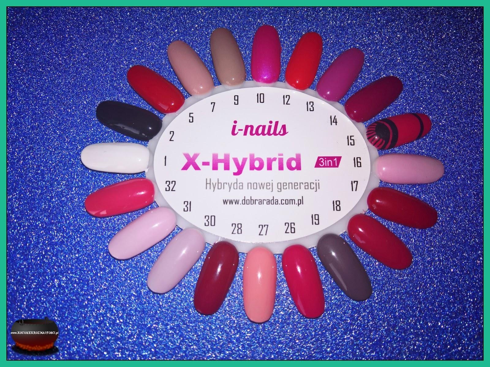 x-hybrid kolory