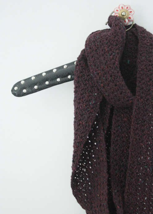 Haakpatroon Smalle Sjaal