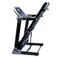 Easy Folding & Soft Drop system Folding design for Sunny Health & Fitness SF-T1413 & SF-T1414 treadmills