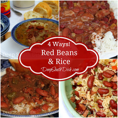Five delicious ways to make red beans and rice.