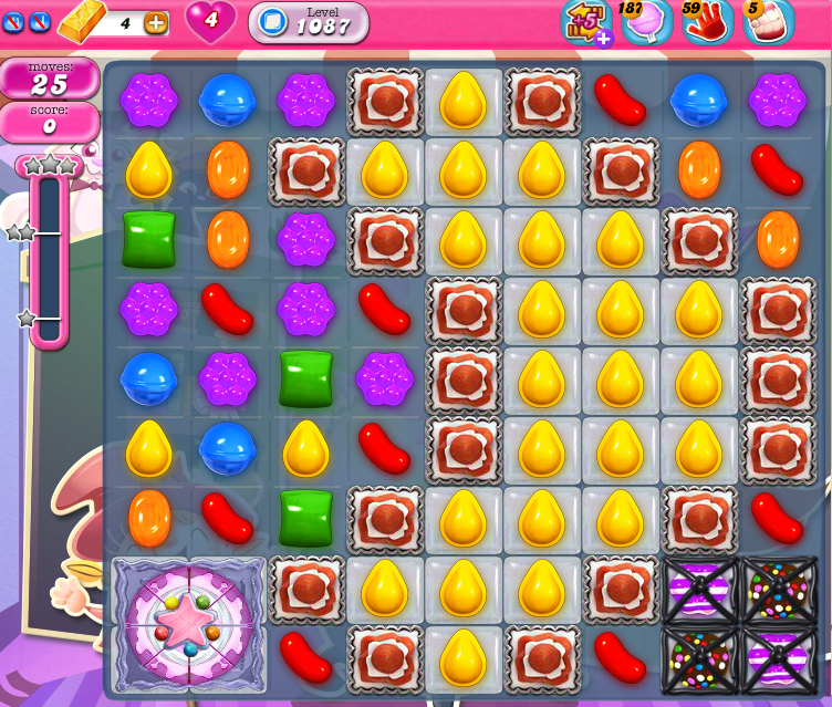 Candy Crush Saga 1087