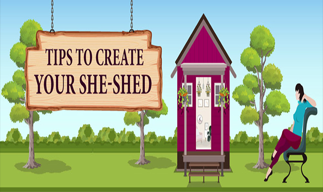 Tips To Create Your She-Shed