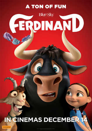 Ferdinand 2017 BRRip 300MB Hindi Dual Audio 480p Watch Online Full Movie Download bolly4u