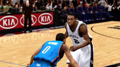 NBA 2K13 Spurs Kawhi Leonard Finals Player Update