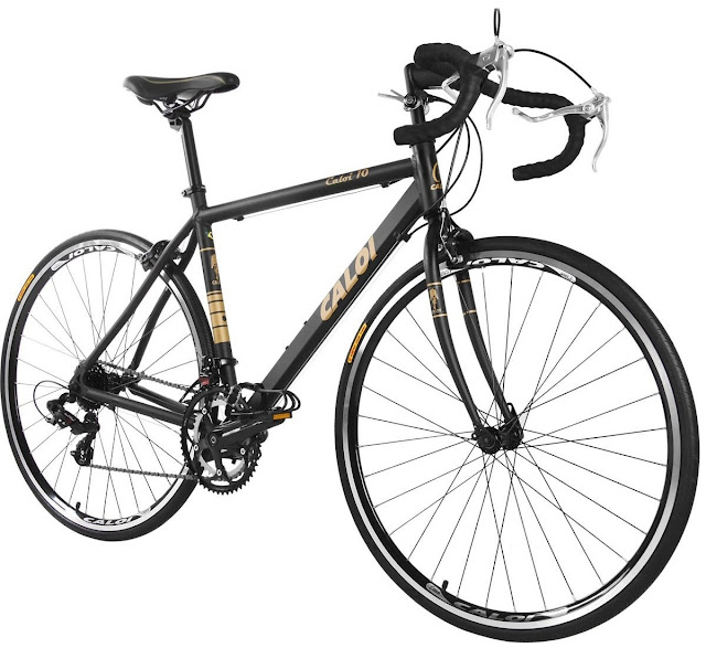 Bicicleta Speed Caloi 10 Preta Aro 700 2017 - Preto