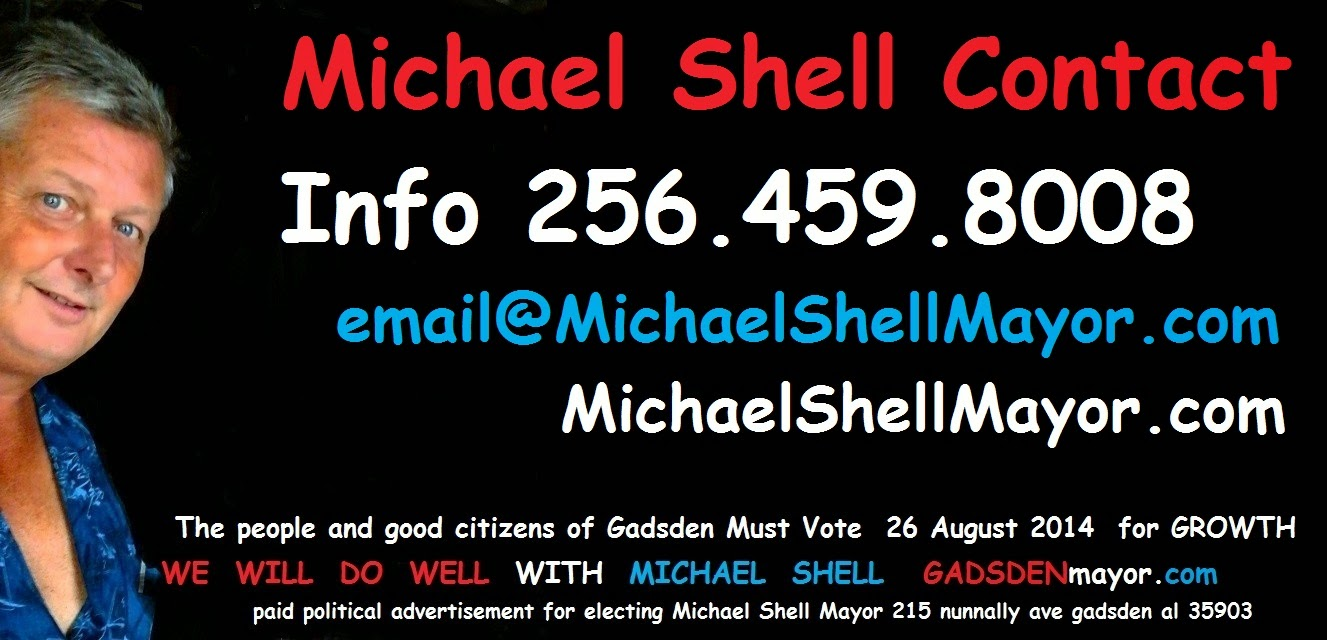 Michael Shell for Gadsden Mayor Videos