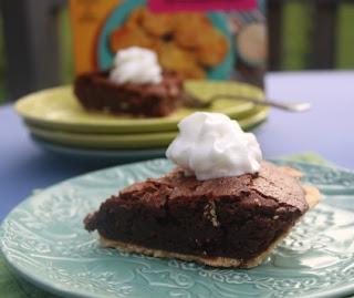 fudge pie air fryer style
