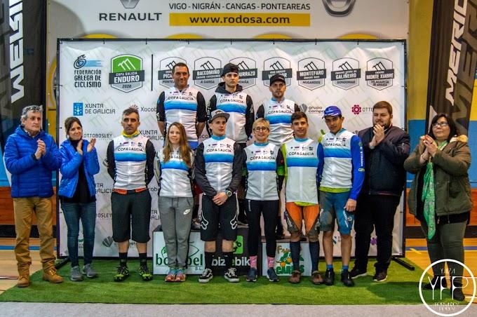 La Copa Galicia de Enduro comenzó con dominio de Marco Veiga y récord de participación