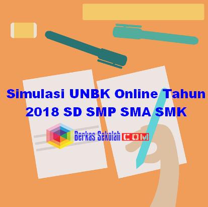 UNBK SD SMP SMA SMK 2017/2018