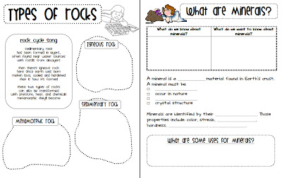 Printables. Rocks And Minerals Worksheets. Gozoneguide Thousands ...