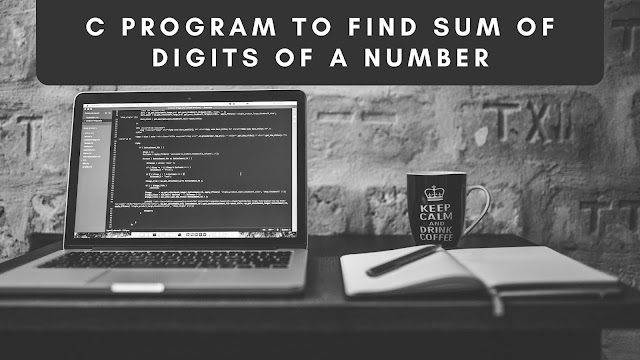 Sum of Digits Program in C programming