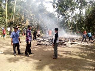 Kebakaran Hanguskan Satu Rumah di Rantau Rasau