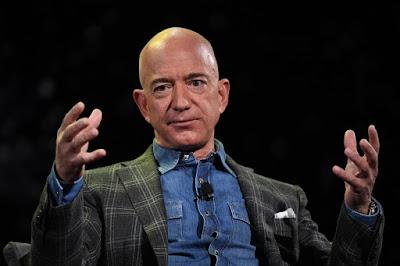 Jeff Bezos is $13billion richer! He made it in minutes..