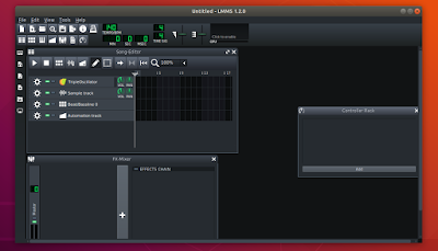 Run LMMS 1.2.0 with AppImage on Ubuntu and Debian system