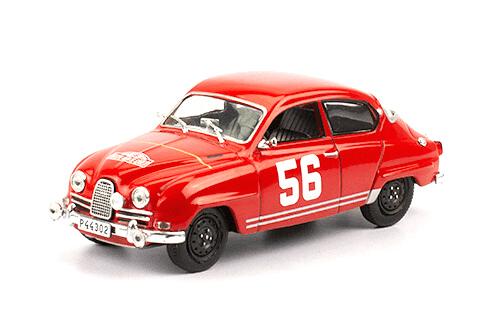 collezione rally monte carlo Saab 95 1964 P. Moss 1:43