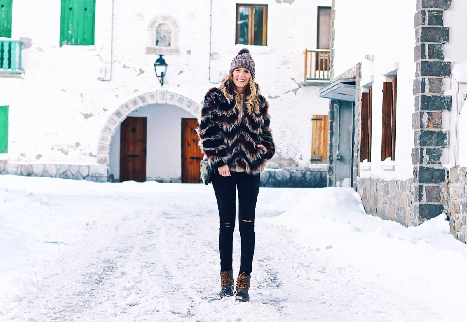 outfits en la nieve