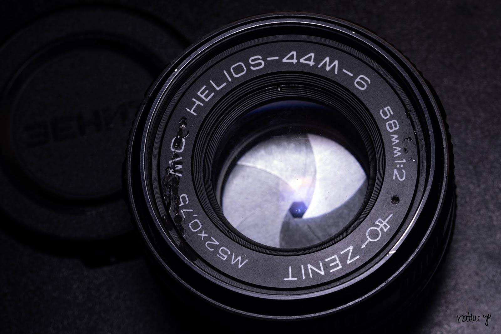 Zenit MC Helios 44M-6 58mm f/2