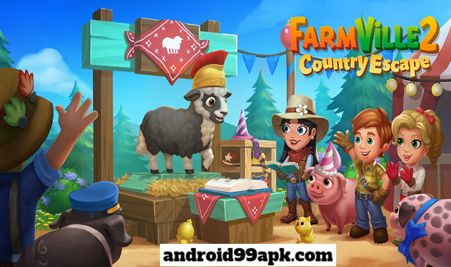 لعبة FarmVille 2 Country Escape v14.0.4977 مهكرة بحجم 112 MB للأندرويد